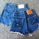 Cut Jean Shorts