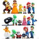 Set of 18 Pcs Figure for Inspired Super Mario Action FIgures Birthday Party, Decoration, and Gift! - Walmart.com
