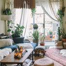 Living Room Boho Style Chandelier, Wood Pendant Ceiling Light Shade, Modern Mid Century Indoor Lamp