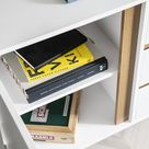 Otto Sideboard Large 2 Door with Drawers in White