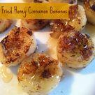 Honey Cinnamon Bananas