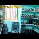 Kitchen tour My small non modular kitchen tour in tamil kitchen organization and ideas