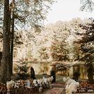 Cozy Boho Backyard Wedding in Georgia | Junebug Weddings