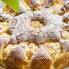 Versunkener Apfelkuchen (glutenfrei)