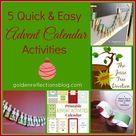 Advent Calendar Activities