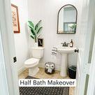 Half Bath Makeover