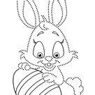 Easter Tracing and Coloring Pages for Kids   Free Preschool Printables and Worksheets by BonTon TV   Easter Activities for Fine Motor Skills   Uskrs   bojanke za printanje i crtanje spajanje to?kica   Uskršnje bojanke za djecu   radni listovi za djecu   B