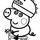 coloriage à dessiner peppa pig en ligne