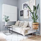 #cosyhome #wohnzimmer #whitehome #bilderwand