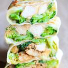 Grilled Chicken Broccoli Wraps   FeelGoodFoodie