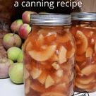 Make Canned Apple Pie Filling at Home