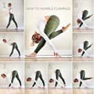 Flamingo Pose can be practiced at the beginning of a yoga sequence