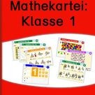 Freiarbeitskartei: Mathe Klasse 1