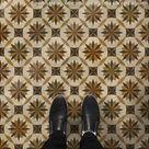 Spicher & Company Vintage Vinyl Floorcloth Mats (Artisanry - Roycrofter - Essay On Friendship)
