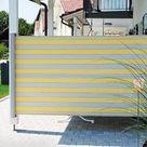 Garten und Balkon Windschutz aus verschiedenen Materialien einrichten