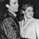 American actor Gregory Peck and Swedish actress Ingrid Bergman on set...