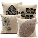 Meigar Decorative Throw Pillow Case Cushion Cover Clearance 18x18 inch Square Zipper Waist Pillowcase Pillow Protector Slip Cases Sham for Home Bedroom Couch Sofa Bed Patio Chair