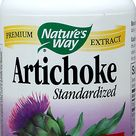 Nature's Way Artichoke Standardized Extract 300 mg-60 Capsules ,one of the best supplements for h...