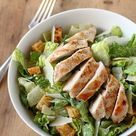 Grilled Chicken Caesar Salad, with homemade dressing - hail, Caesar! - Will Cook For Friends