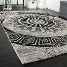 Chulmleigh Grey/Black Rug World Menagerie Rug Size: Rectangle 80 x 150cm