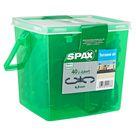 Spax Terrassendielen-Abstandhalter Kunststoff grau 4,5 mm 40 Stück