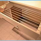 DIY-Wäscheständer gebaut in einer IKEA Schublade // DIY-drying rack built in an IKEA drawer