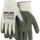 Majestic 37-1550 Cut Resistant Dyneema Black Latex Palm Gloves Cut-Less Diamond (DOZEN)