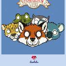 Die Schule der magischen Tiere: Tiermasken basteln