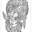 Tattoo Designs Adult Colouring Book Art Anti Stress Creative Skulls Wolf Dragon