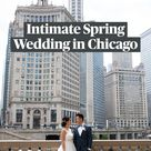 Intimate Spring Wedding in Chicago