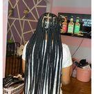 long big box braids hairstyles