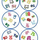 Spiele im Deutschunterricht: Dobble - Zahlen 0-100 (31 Karten / 6 Symbole)