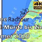 Graal-Müritz Wustrow Ahrenshoop Prerow Zingst DARß Ostsee 4K UHD Fahrrad [Original Sound] Dji GoPro