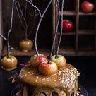 Salted Caramel Apple Snickers Cake | Half Baked Harvest