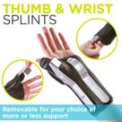 Thumb & Wrist Splint   Tendonitis Hand Spica Brace for De Quervain's Tenosynovitis