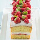 Zomerse aardbeiencake - Leuke recepten