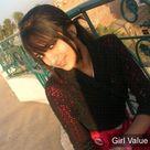 Karachi, Pakistani bold girl in red dress