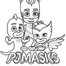 Mimos Personalizados Grátis Para Imprimir - PJ Mask
