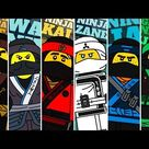Draw Lego Ninjago Characters | Lego Coloring Pages | Ninja Coloring Pages