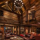 Exquisitely designed rustic lakeside home in the Nevada mountains