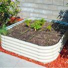 9-in-1 Modular Metal Raised Garden Bed | The Grommet®