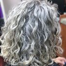 Curly Hairstyles for Over 50 Gray Hair