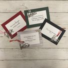 Peace Ornament - Red / Yes - Black card