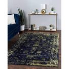 Rangerville Collection Area Traditional Vintage Rug, French Inspired Perfect For All Home Décor, 5' 0 X 8' 0 Rectangular