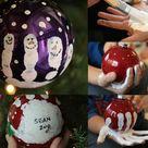 Hand Print Ornament