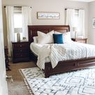 Bright, Farmhouse Master Bedroom Refresh - Inspired Reality