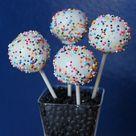Rainbow Sprinkle Cakes