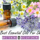 10 Best Essential Oils For Skin Whitening And Brightening