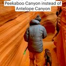 Why you should go to Peekaboo Canyon instead of Antelope Canyon