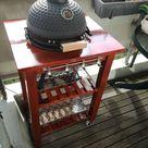 BBQ grill table for my mini-kamado - IKEA Hackers